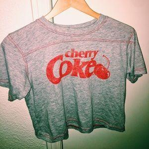 cherry coke crop top!